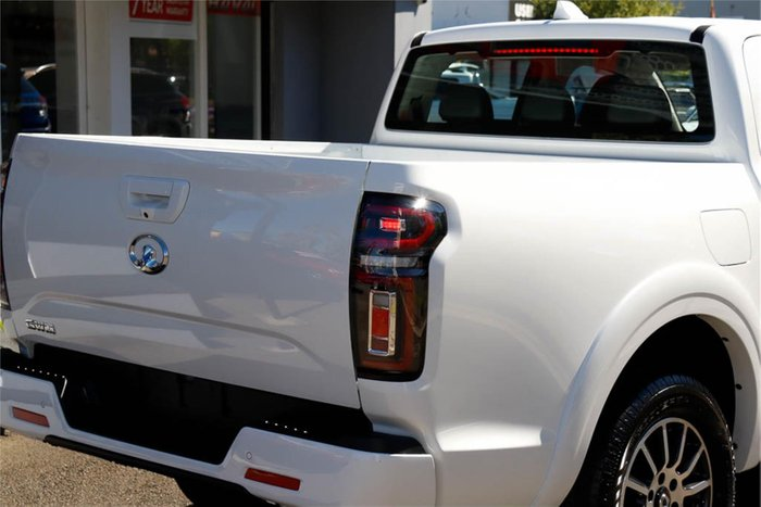 2021 GWM Ute Cannon NPW MY20 PURE WHITE
