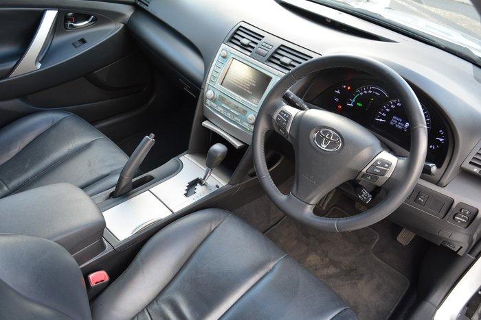 2010 Toyota Camry Hybrid Luxury AHV40R MY10 Silver Ash
