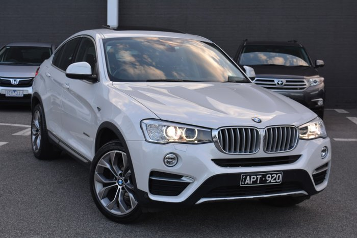 2017 BMW X4 xDrive20d F26 4X4 Constant Alpine White