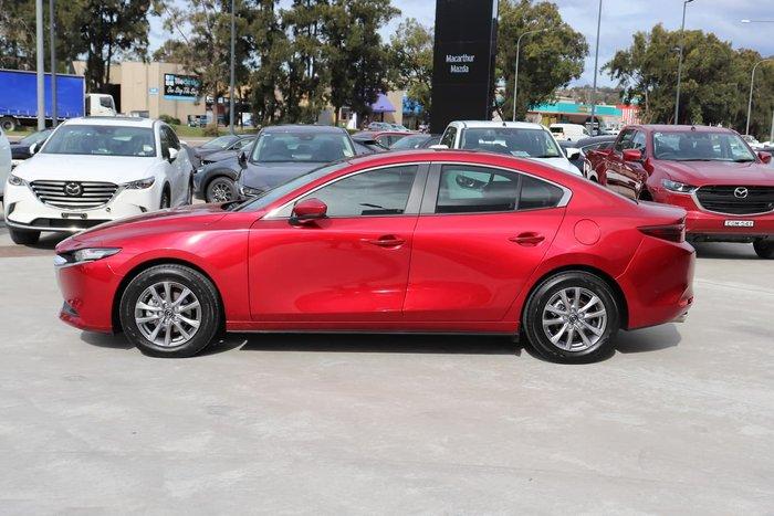 2020 Mazda 3 G20 Pure BP Series Red