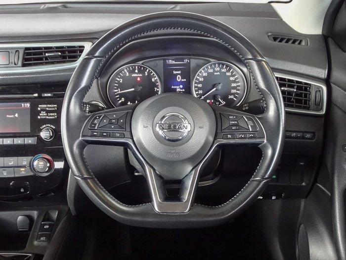 2019 Nissan QASHQAI ST J11 Series 3 MY20 Ivory Pearl