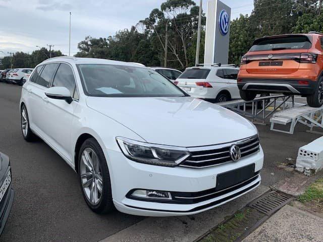 2018 Volkswagen Passat 132TSI B8 MY18 Pure White