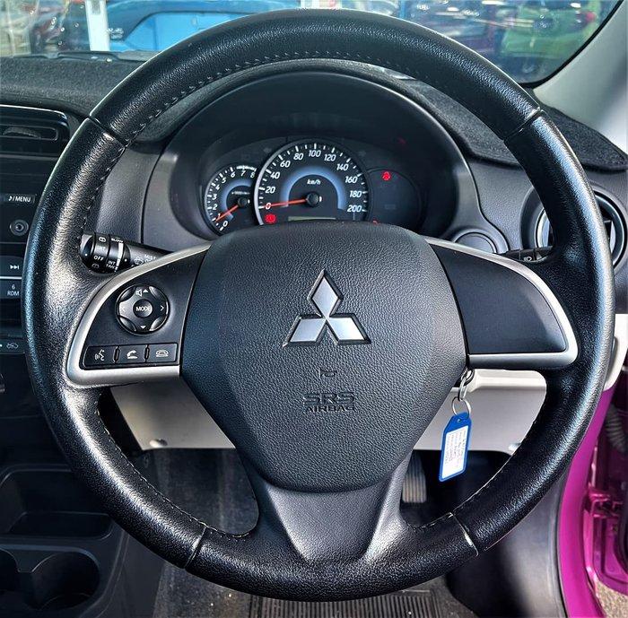 2014 Mitsubishi Mirage ES LA MY14 Mulberry
