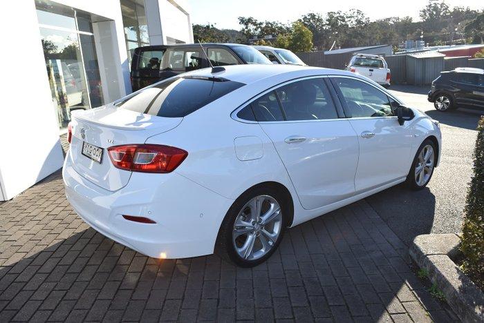 2017 Holden Astra LTZ BL MY17 Summit White