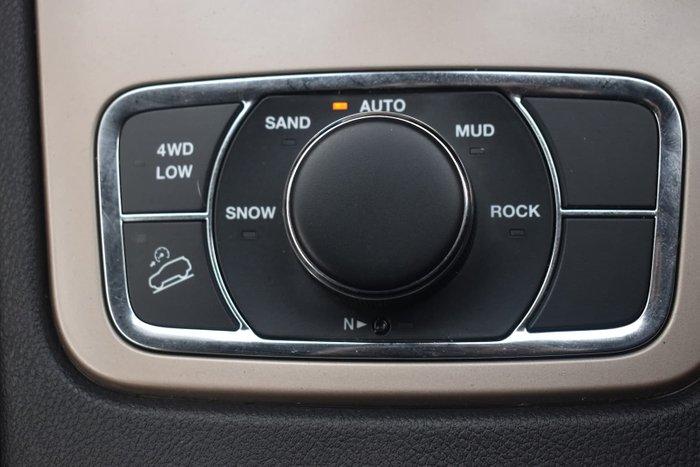 2016 Jeep Grand Cherokee Limited WK MY15 4X4 Dual Range Brilliant Black