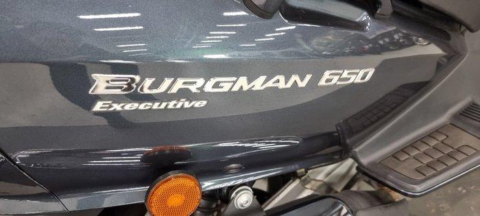 2012 Suzuki BURGMAN 650 EXECUTIVE (AN650A) GREY