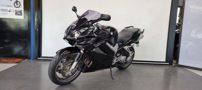 2007 Honda VFR800F (VFR800Fi) Black