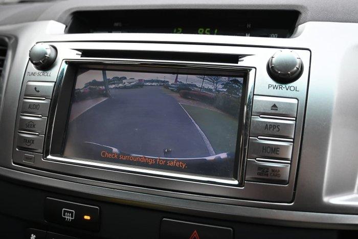 2014 Toyota Hilux SR5 KUN26R MY14 4X4 Dual Range Black