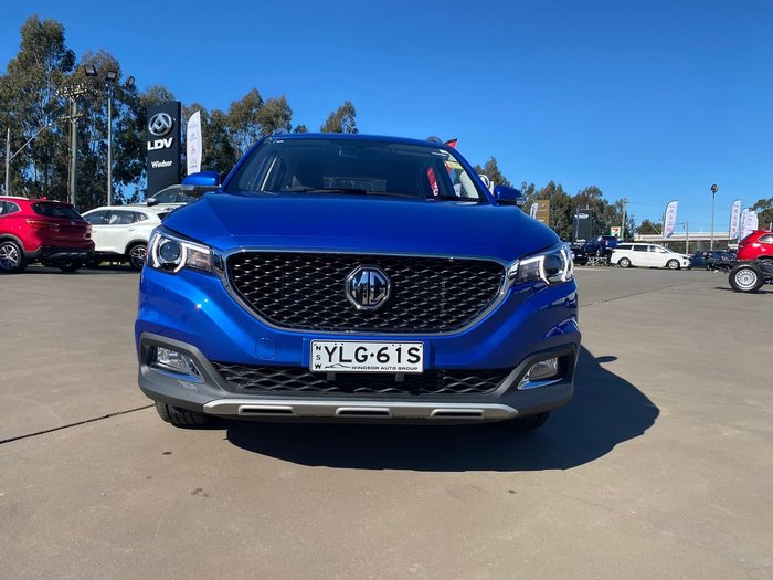 2021 MG ZS Excite AZS1 MY21 Blue