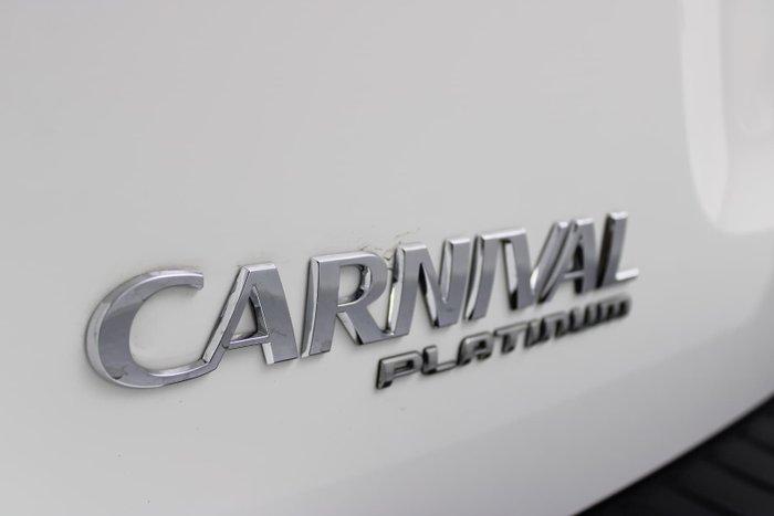 2019 Kia Carnival Platinum YP MY19 White
