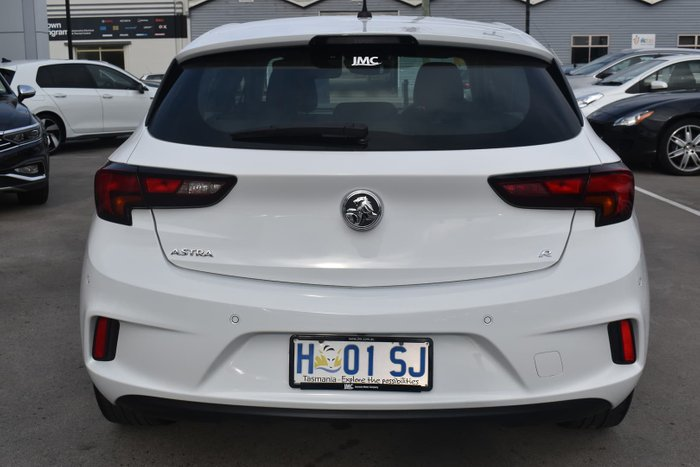 2018 Holden Astra R BK MY18.5 Summit White