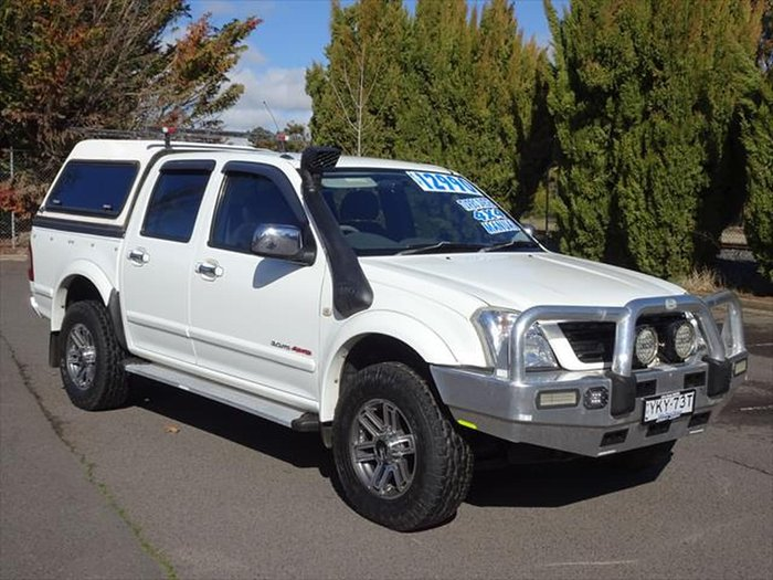 2005 Holden Rodeo LT RA MY05 4X4 White