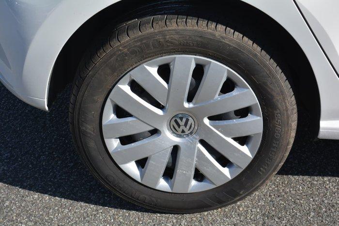 2014 Volkswagen Polo Trendline 6R MY14 Candy White