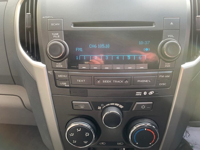 2013 Holden Colorado LX RG MY13 4X4 Dual Range Red