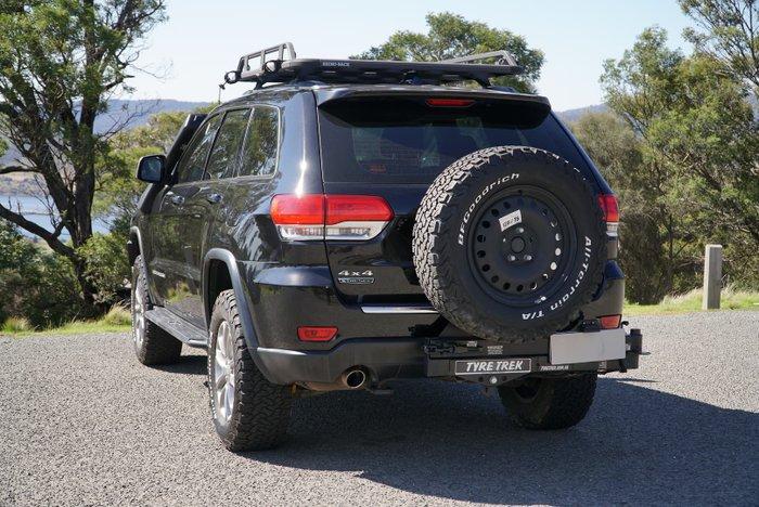 2015 Jeep Grand Cherokee Laredo WK MY15 4X4 Dual Range Brilliant Black