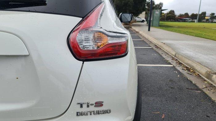 2017 Nissan JUKE Ti-S F15 Series 2 White