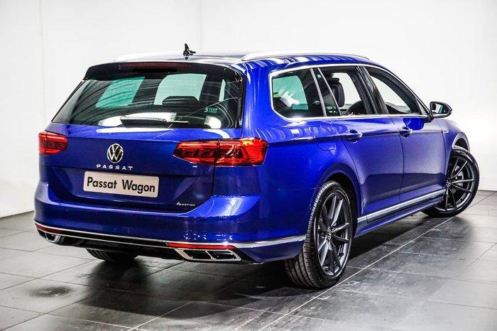 2021 Volkswagen Passat 206TSI R-Line B8 MY21 Four Wheel Drive Blue