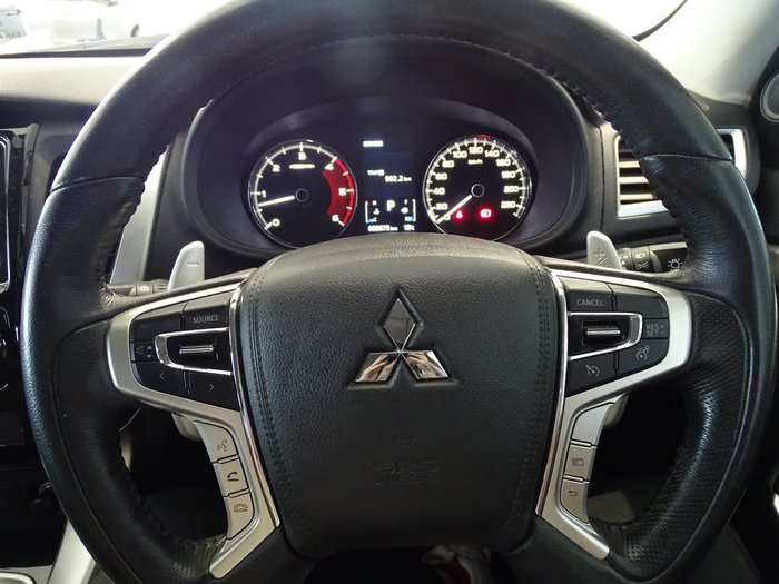 2015 Mitsubishi Pajero Sport GLS QE MY16 4X4 Dual Range White