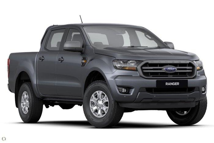 2020 Ford Ranger XLS PX MkIII MY21.25 4X4 Dual Range Meteor Grey