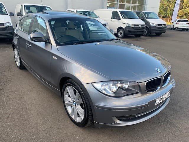 2010 BMW 1 Series 120i E87 MY10 Space Grey
