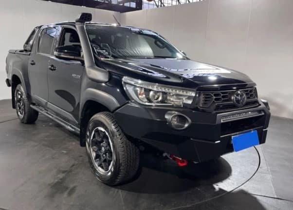 2020 Toyota Hilux Rugged X GUN126R 4X4 Dual Range Eclipse Black