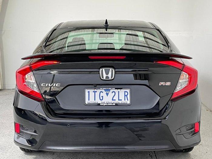 2017 Honda Civic RS 10th Gen MY17 Black