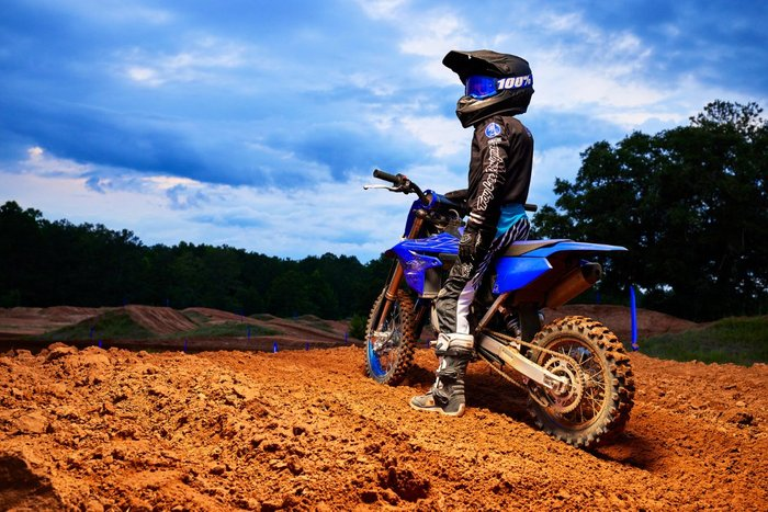 2022 Yamaha YZ65 Blue