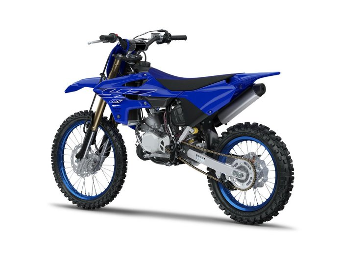 2022 Yamaha YZ85LW Blue