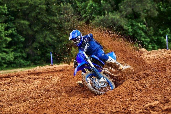 2022 Yamaha YZ125 Blue