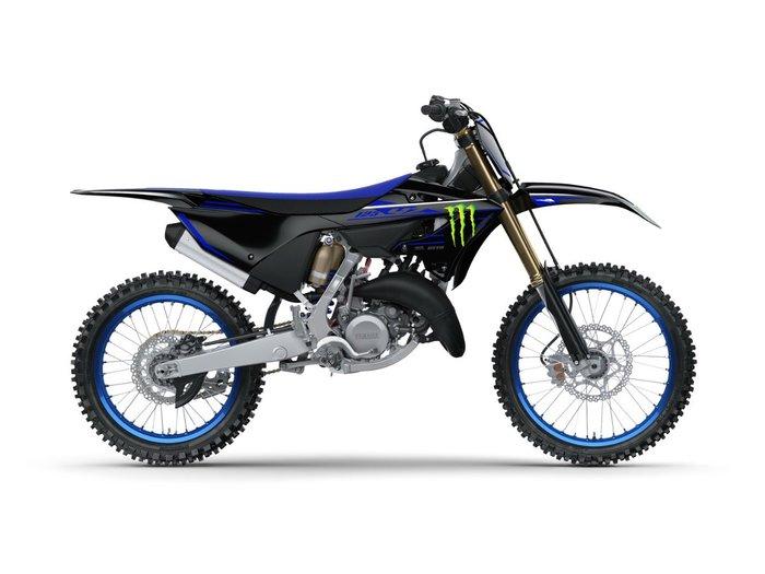 2022 Yamaha YZ125 MONSTER ENERGY BLUE/BLACK