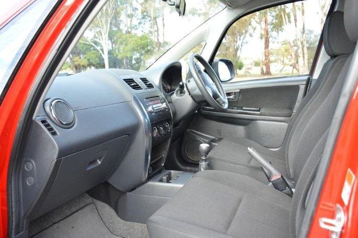 2009 Suzuki SX4 GLX GYB 4X4 On Demand Red
