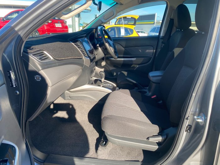 2018 Mitsubishi Triton GLS MQ MY18 4X4 Dual Range Titanium