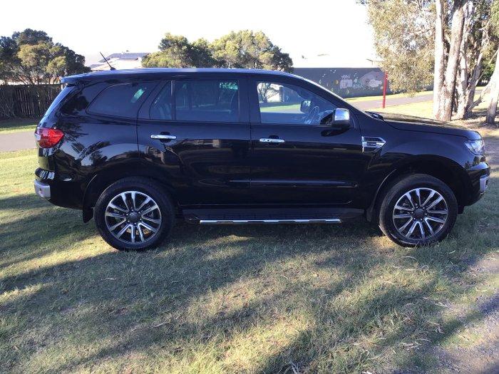 2019 Ford Everest Titanium UA II MY19.75 4X4 Dual Range Shadow Black