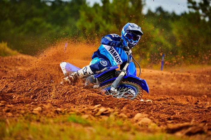 2022 Yamaha YZ250 Blue