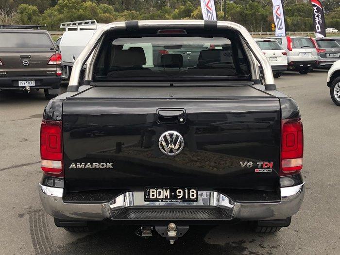 2017 Volkswagen Amarok TDI550 Highline 2H MY17.5 4X4 Constant Black