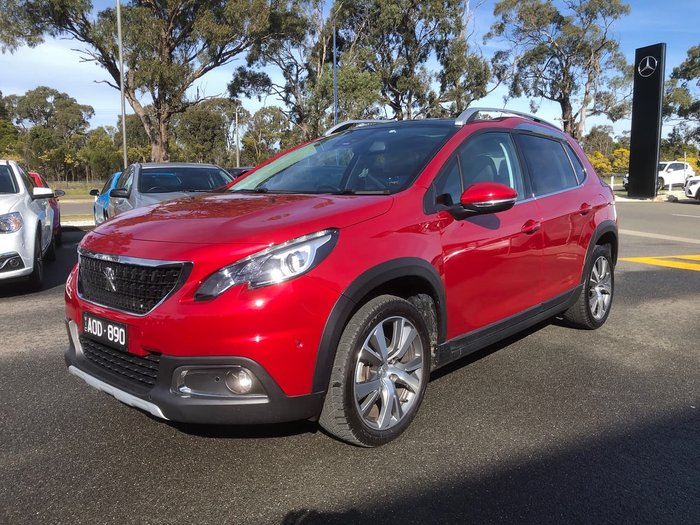 2017 Peugeot 2008 Allure A94 MY17 Red
