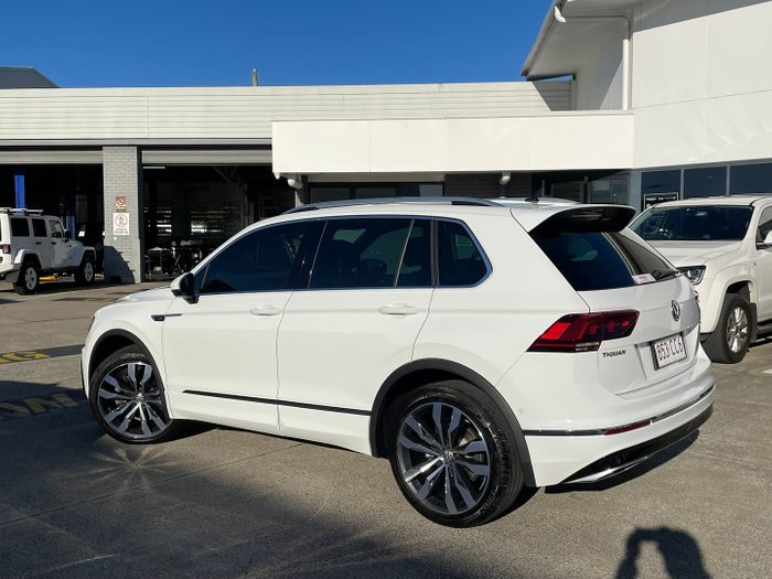 2018 Volkswagen Tiguan 162TSI Highline 5N MY19 Four Wheel Drive Pure White