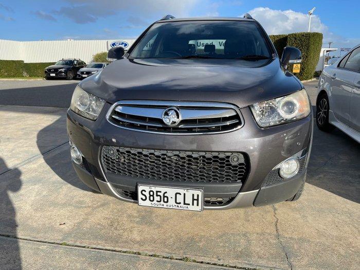 2012 Holden Captiva 7 LX CG Series II MY12 AWD Grey