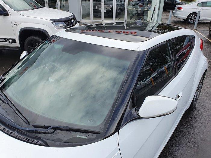 2016 Hyundai Veloster + FS4 Series II White