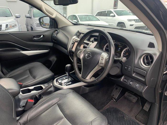 2017 Nissan Navara ST-X D23 Series 2 Black