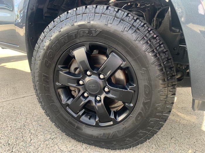 2016 Ford Ranger XL Hi-Rider PX MkII Grey