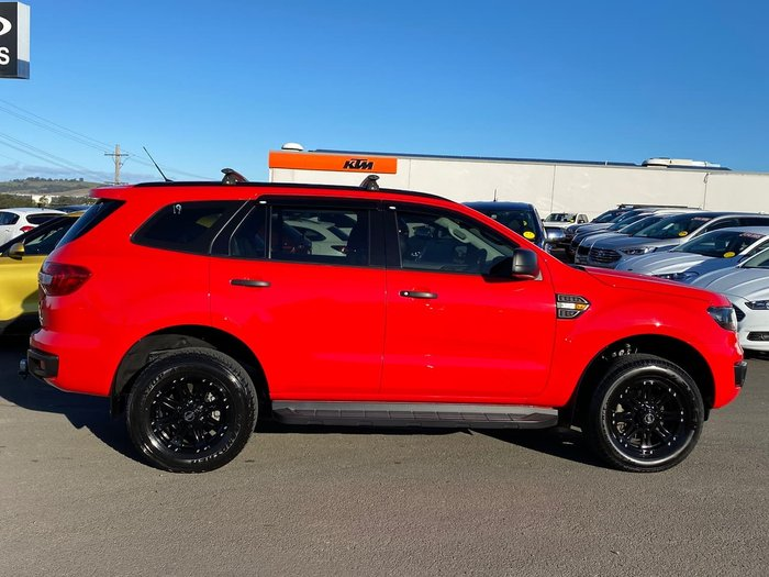 2015 Ford Everest Ambiente UA 4X4 Dual Range Red