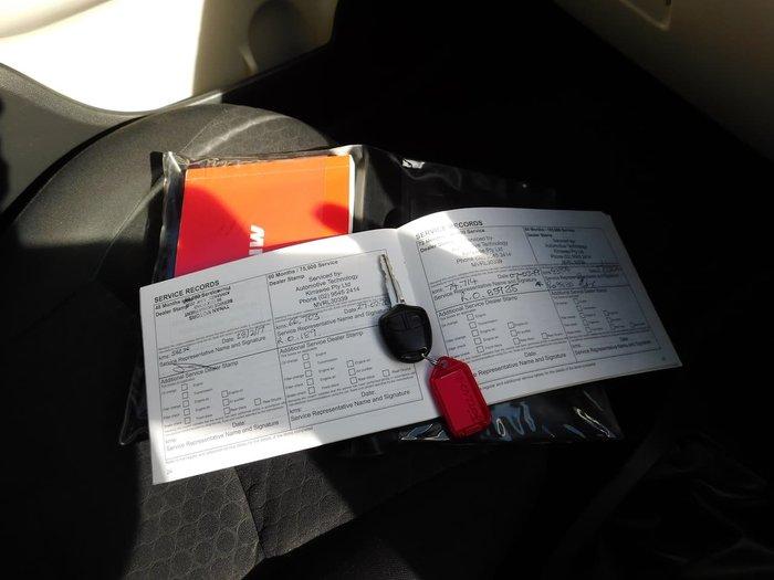 2013 Mitsubishi Mirage ES LA MY14 Red