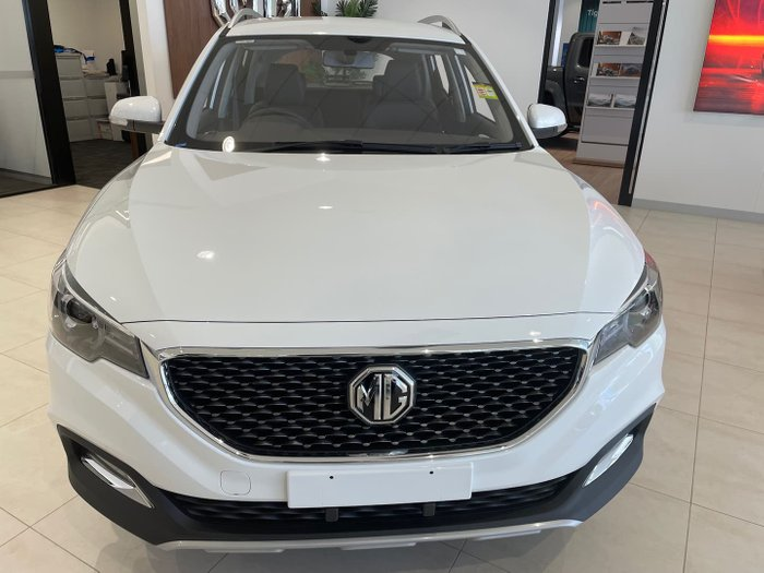 2021 MG ZS Excite AZS1 MY21 Dover White