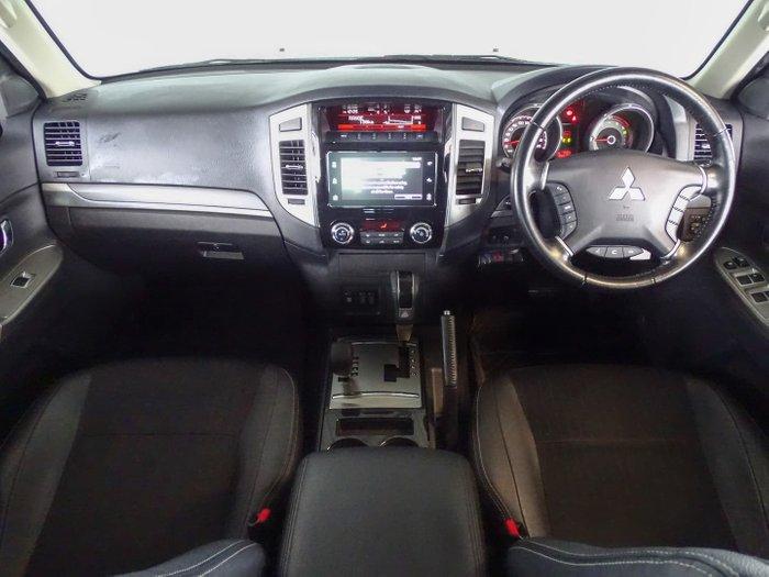 2015 Mitsubishi Pajero GLS NX MY15 4X4 Dual Range White