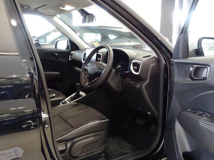 2021 Hyundai Venue Elite QX.V3 MY21 Black