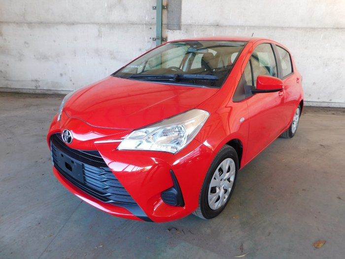 2018 Toyota Yaris ASCENT NCP130R MY17 Red