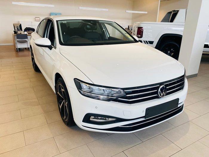 2021 Volkswagen Passat 140TSI Business B8 MY21 White