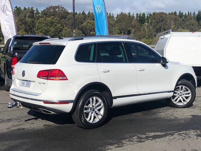 2017 Volkswagen Touareg 150TDI Element 7P MY18 Four Wheel Drive White