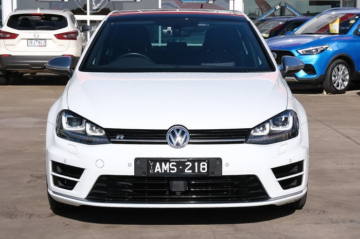 2016 Volkswagen Golf R 7 MY17 Four Wheel Drive White